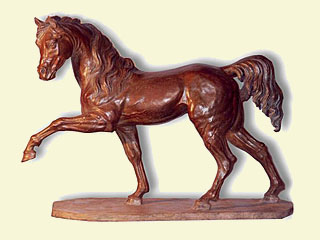 Figure of a horse, Sculptor in Madrid